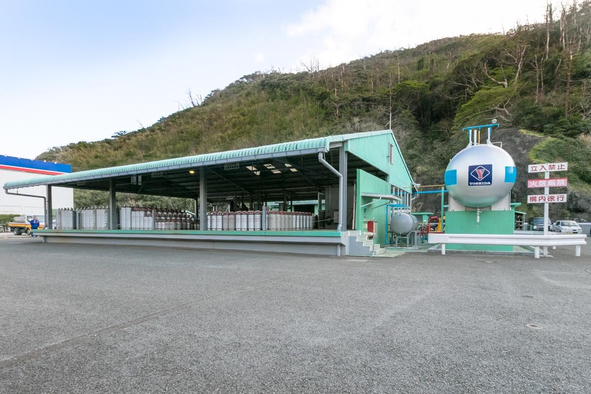 吉田商事 奄美 名瀬LPGステーション