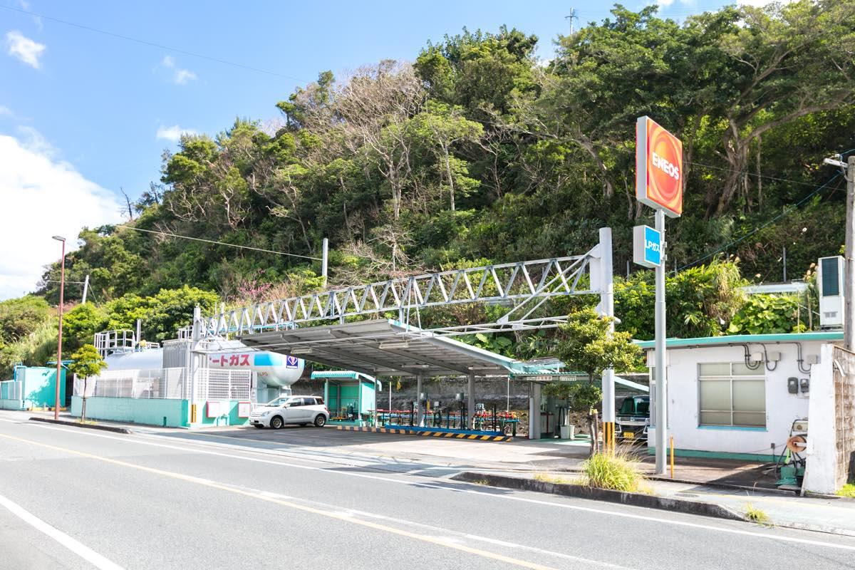 吉田商事 奄美 小浜オートガススタンド