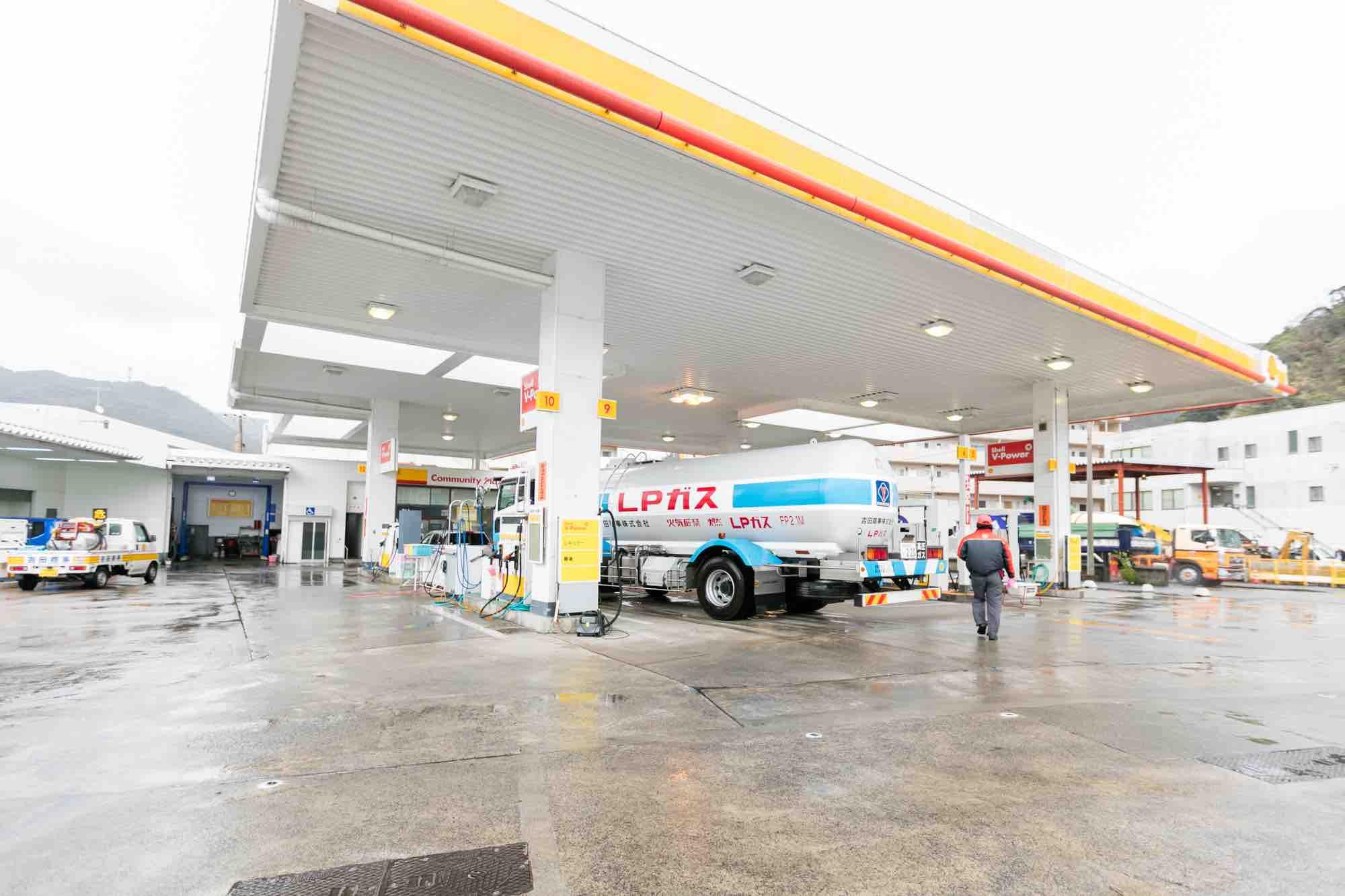 吉田商事 鳩浜ガソリンスタンド