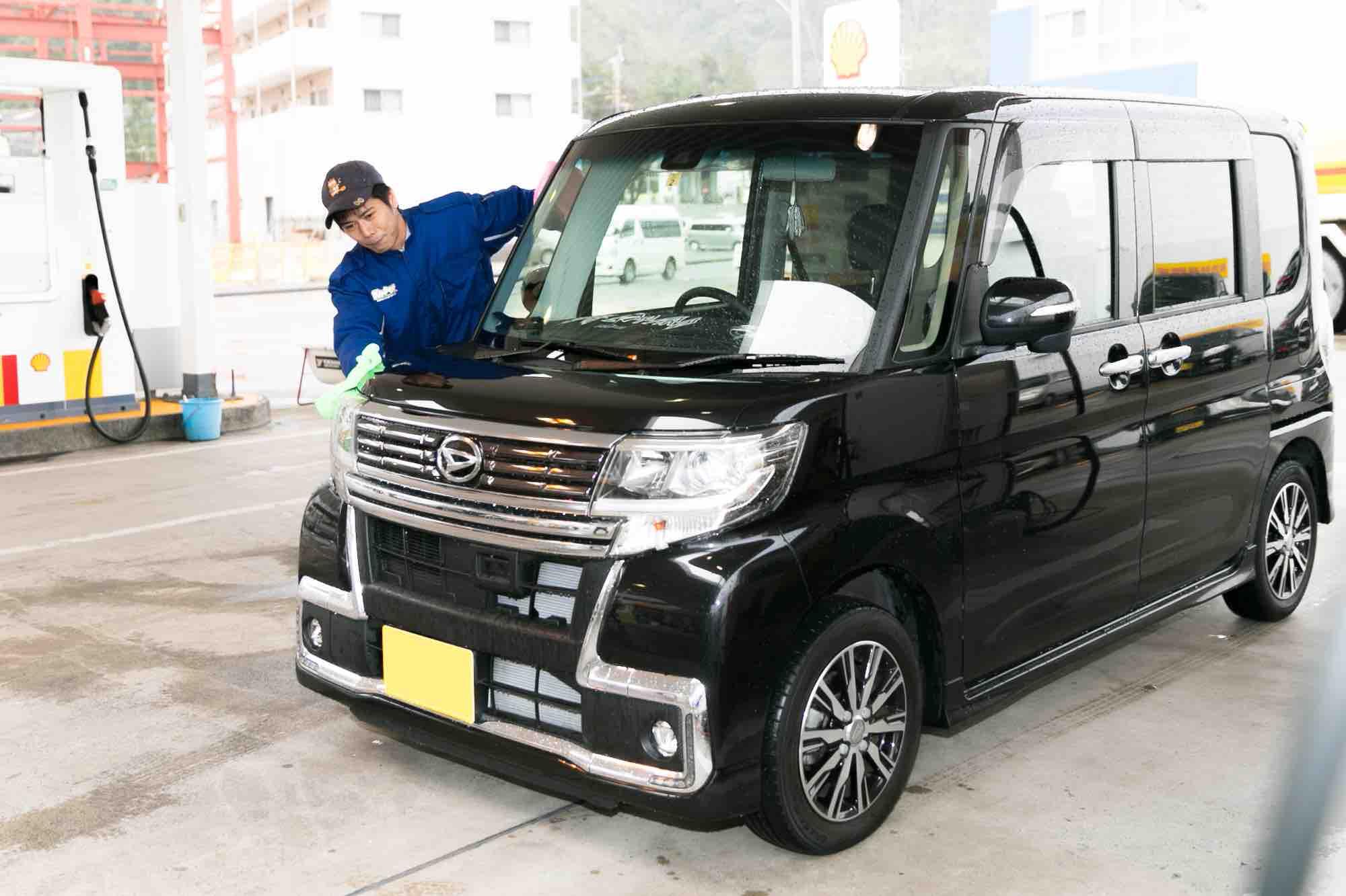 奄美 吉田商事 鳩浜ガソリンスタンド カーコーティングKeeper