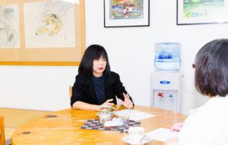 マチイロマガジン取材記事 株式会社堀陶石 専務写真